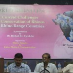 A thought-provoking presentation on rhino conservation was given in Assam, India, by Dr. Bibhab Talukdar on World Rhino Day 2012.