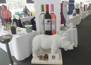 To mark World Rhino Day, Save the Rhino International  in London held its very first wine tasting event. Photo courtesy of Save the Rhino International.
