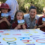 Taronga Western Plains Zoo in Dubbo, NSW, Australia, hosted a number of educational and fundraising activities on World Rhino Day. Photo courtesy of Taronga Western Plains Zoo.