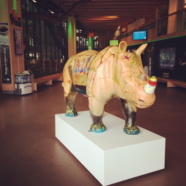 """Nosse"" is created by Elisabeth Rippe and is now decorating Universeum."