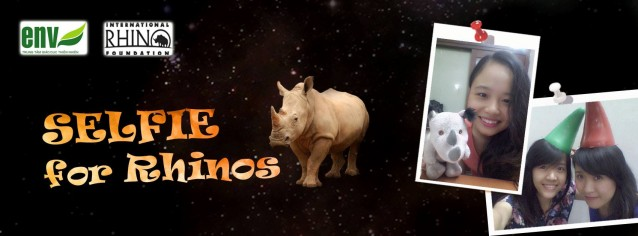 "Vietnam is celebrating World Rhino Day with a ""Selfie for Rhinos"" competition!"