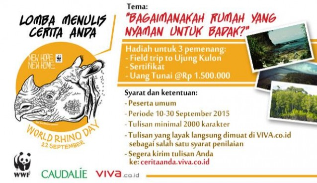 World Rhino Day 2015 Indonesia Contest