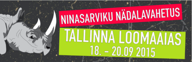 Celebrate World Rhino Day from Sept. 18 - 20 at Tallinn Zoo in Estonia!