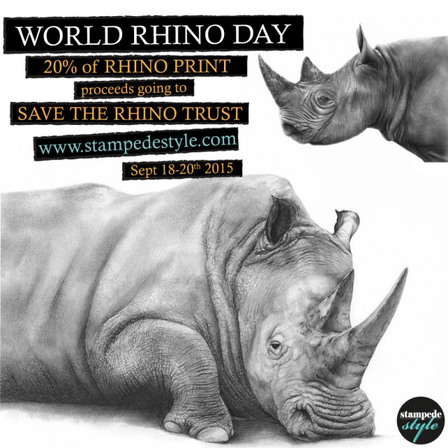 Stampede Style of Australia is celebrating World Rhino Day!