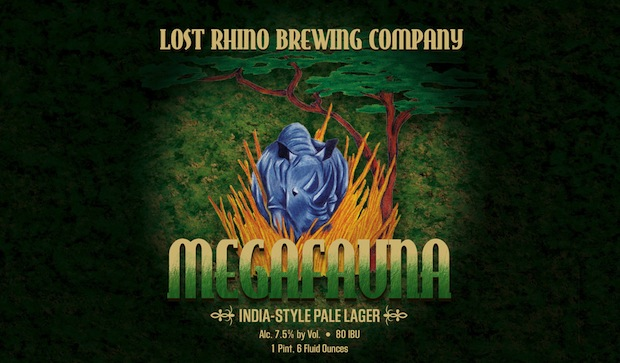 September marks the return of Megafauna to the Lost Rhino Brewing Company beer menu!