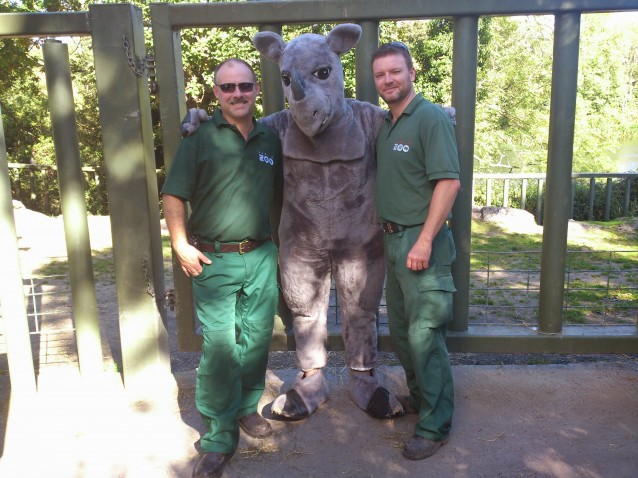 Dublin Zoo is celebrating World Rhino Day 2014 with activities for the whole family!  Photo courtesy of Dublin Zoo.