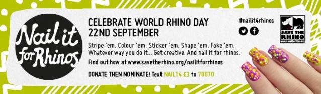 #nailit4rhinos