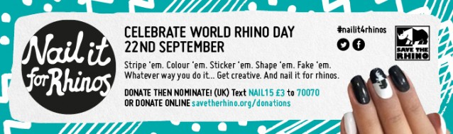 Save the Rhino and Nail it for Rhinos