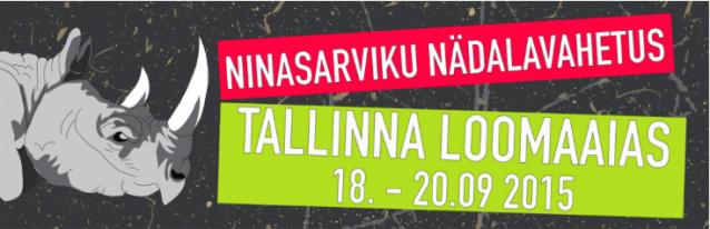 Celebrate World Rhino Day from Sept. 18 - 20 at Tallinn Zoo in Estonia!