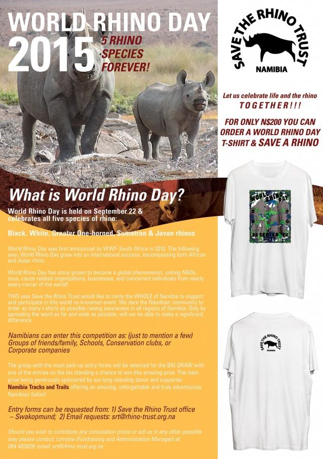Celebrate World Rhino Day in Namibia with Save the Rhino Trust!
